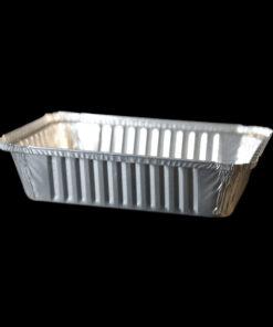bandeja de aluminio rectangular 2.25lb