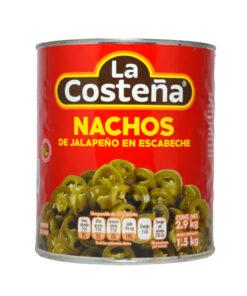 CHILE JALAPENO EN ESCABECHE EN RODAJAS LA COSTEÑA 0270496