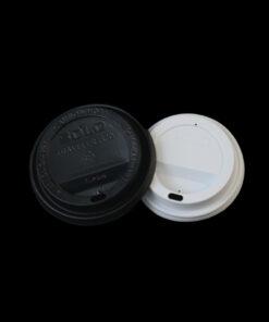 Tapa plastica Blanca para vaso de papel 0021546