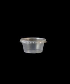 Vaso plastico porcionado 4 onzas