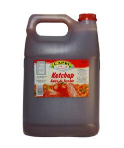 salsa de tomate ketchup capri 0430002